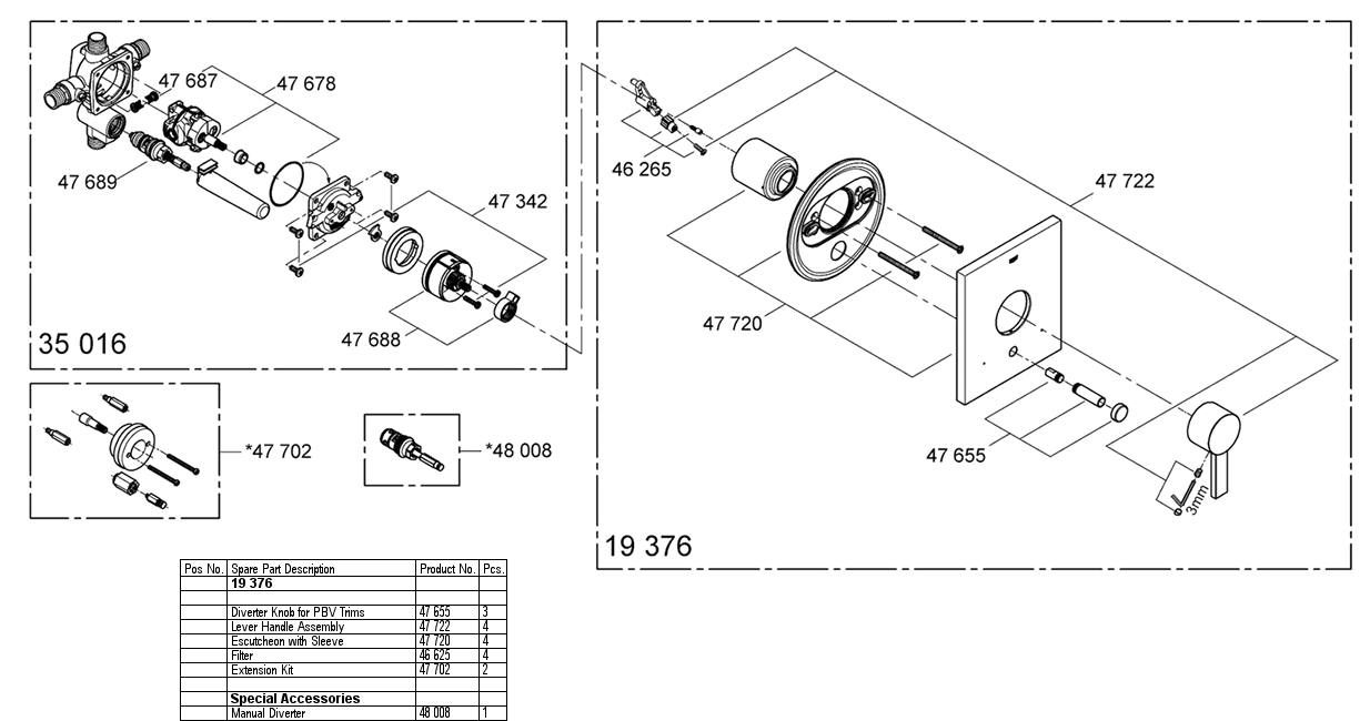 Kwc Shower Valves Diagram - Online Schematic Diagram •
