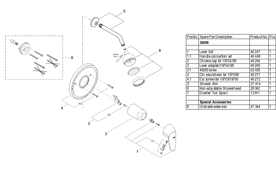 Shower Faucet Parts - The Best Image Of Dpipunjab.Org
